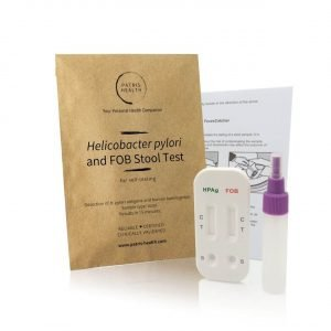 Patris Health - Helicobacter pylori and Faecal Occult Blood Stool Home Test Kit