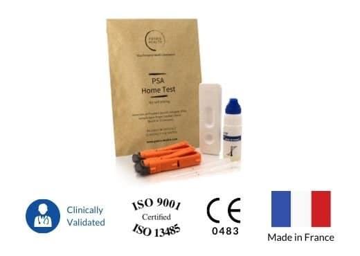 Patris Health - Certificates of the PSA Home Test Kit