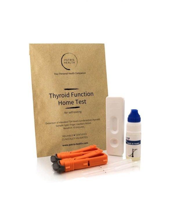 Patris Health - Thyroid Function (TSH) Home Test for Self-Testing